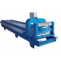 Buy cheap High Power Roof Panel Roll Forming Machine 3 Phases With 1 Inch Chain Size from wholesalers