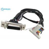 Quality 180 Degree HPCN Female 26 Pin SCSI Connector To 8 Pin 12 Pin 87439 With M4 Terminal Cable for sale