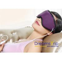 Quality 3D Health Medical Massage USB Far Infrared Heating Eye Mask for Eye Relief Stress Improve Sleep for sale