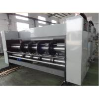 Buy economic lead edge feeding printing slotting die cutting machine, corrugated at wholesale prices