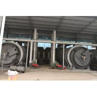 China Automatic waste tire recycling pyrolysis to oil plant Waste Tyre Pyrolysis Plant on sale
