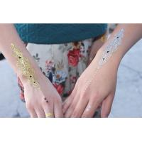 Quality Temporary metallic tattoo for sale