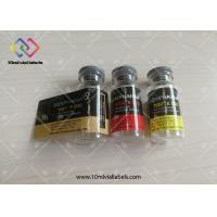 Quality Printing Custom Waterproof Steroid Vial Labels , Self Adhesive Labels For Glass Bottle for sale
