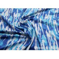 Quality Sublimation Heat Transfer Polyester Spandex Fabric Geometric Pattern Design for sale
