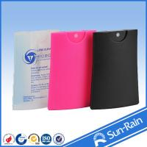 Buy cheap Plastic card type 20ML Travel Perfume Bottle FOR Moisture liquid from wholesalers
