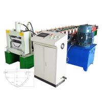 Quality Automatic Gutter Roll Forming Machine / Gutter Making Machine For Waterproof Construction for sale