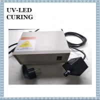 Quality High Intensity UV LED Spot Type UV Curing System 365nm for Fluoreacent Excitation Magnetic Powder Inspection for sale