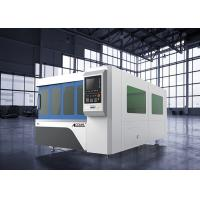 Quality Raycus Fiber Laser Power CNC Fiber Laser Cutting Machine 6KW Compact Design for sale