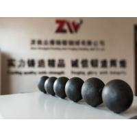 Quality dia 20-150mm B2 material mining use Forged grinding steel ball for sale