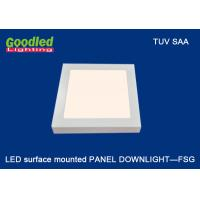 Quality Wall Mounted Square LED Panel Light 240x240 mm, 3700K - 4500K 15W LED Ceiling Light for sale