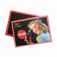 Quality Fridge Magnets, Made of Tinplate, Environment-friendly, Suitable for Promotional and Gift Purposes for sale