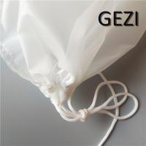 China Mesh filter bag for almonds, cashew milk, cold coffee, homemade Greek yogurt, juice, home brewing - reusable ultra-fine on sale