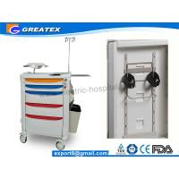Buy cheap Top Level Latest Hospital Medical Trolley Folding Medical Storage Trolley For Water Jar from Wholesalers