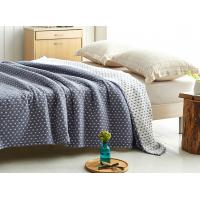 China Custom Thick Warm Soft Quilt Blanket For All Season Small Start Design Pattern on sale