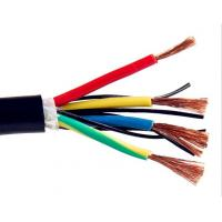 Quality Multicore Screened Control Drag Chain Cable , Stranded Copper Wire High Stability for sale