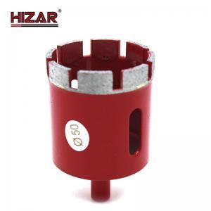 China Granite 370mm Drill Bit Diamond  Customizable 3 Core Drill Bit 5/8-11 Thread on sale