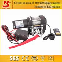 Quality 8000LBS 4X4 winch / mini 12v electric winch for sale