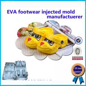 China High Heel EVA Slipper Mould Comfortable Kids Plastic Shoe Molding on sale