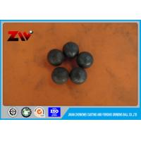 Buy cheap High Strength forged steel grinding ball for mining material B2 HRC 58-64 from wholesalers