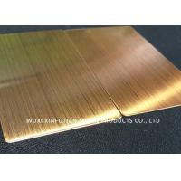 Quality ASTM Standard 310S Cold Rolled Stainless Steel Sheet Hair Line Customized Packing for sale