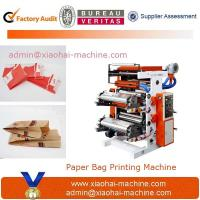 China Two Colors Flexographic Printing Machine For Paper Bag on sale