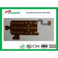 China Multilayer PCB Manufacturing Process FPC Board Flexible PCB Immersion Gold Yellow on sale