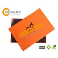Quality Eco - Friendly Custom Printed Gift Boxes , Premium Paper Shoes Case With Logo for sale