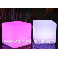 Quality 16 single color and 4 RGB multi color LED Cube Furniture for table ,  stools , holder for sale