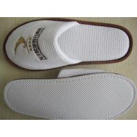 Quality hotel  slipper  eva sole waffle fabric can be washed for sale