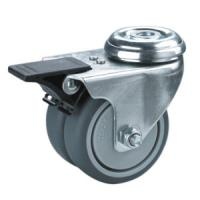Quality twin wheels caster with bolt hole for sale