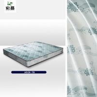 Quality Color Printing 83 inch width Polyester Pongee Fabric Mattress Material for sale