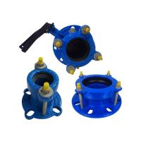 Quality Durable Male Female Flange Cast Iron Pipe Fittings Flexible Coupling Flange for sale