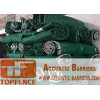 Quality Temporary Sound Acoustic Barrier Mat Temporary Fencing Hire Sound Vinyl Barrier for Metal Cut Saw in Construction Sites for sale