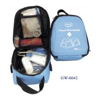 Quality PVC Coated Nylon Bag Travel First Aid Kits For Illness Or Injury Care for sale