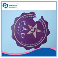 Quality Custom Die Cut Vinyl Stickers , Anti-Counterfeiting Destructible Stickers for sale