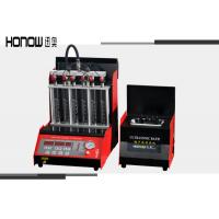 China Gasoline Fuel Injector Cleaner Machine , Fuel Injector Tester Cleaner CE Approval on sale