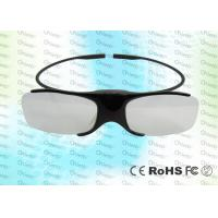 Quality Light weighted 3D TV IR Active Shutter Glasses GH1000 with low power detection for sale