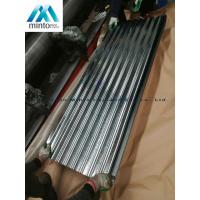 Quality Zinc Coated Corrugated Roofing Sheets Galvanized Corrugated Roof Panels Antirust for sale