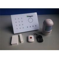 Quality Smart Wireless Intruder Alarm Phone Monitoring with GSM Intercom for sale