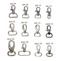 Alloy / Iron Crocodile Clips Lanyard Components Professional For ID Card