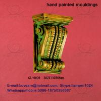Quality Decorative Polyurethane (PU) Exotic Corbels/PU Foam Cornice Mouldings/PU Caving mouldings for sale