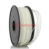 Buy cheap Polystyrene White Makerbot Filament 3D Printing , 1.75mm HIPS Filament from wholesalers
