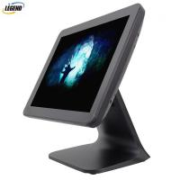 "Buy cheap Metal Stand Plastic Case 15"" 1024 X 768 Pixels Touch PC POS from wholesalers"