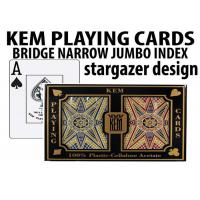 Quality Advanced KEM Stargazer Invisible Ink Marked Card Decks For Cheating Poker Games for sale