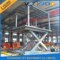 Quality Parking System Hydraulic Platform Lift for sale