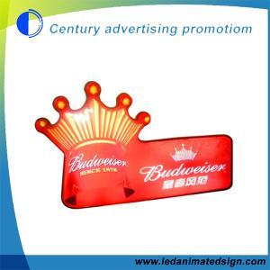 China Irregular acrylic vacuum light box on sale