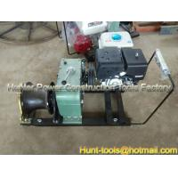Quality Hot sale Gasoline Overhead Line Winch Cable drum winch for sale