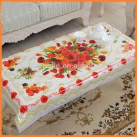 Quality Fashionable Table Sashes And Chair Covers  , Rectangular Printed Jacquard Table Linens for sale