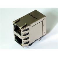 Quality 2x1 Port Stacked HR862101H Rj45 Right Angle100M Transformer LPJ17634AENL for sale