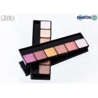 Quality OEM ODM cosmetics 6 color eye shadow, professional makeup eyeshadow palette for sale